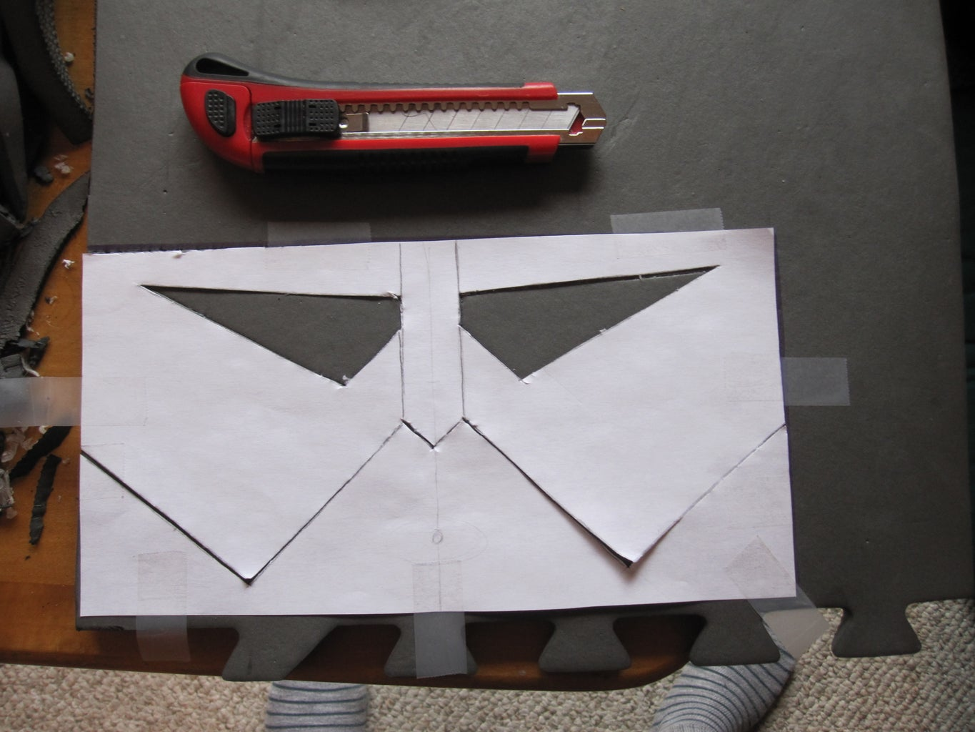 The Face Plate and Back