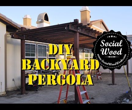 How to Build a Simple Backyard Pergola