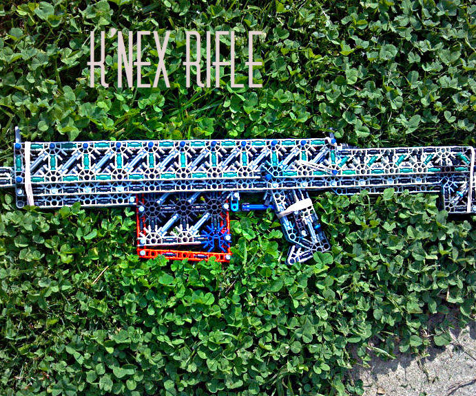K'nex Rifle: Betrayal + Internals