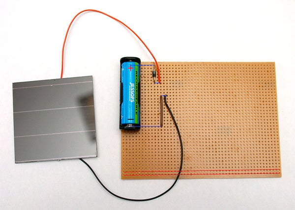 Solar Battery Charging