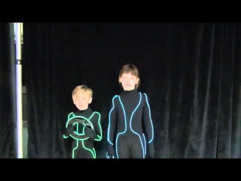 EL wire TRON suits!