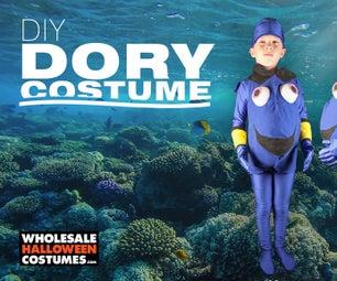 DIY Dory Halloween Costume