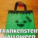 Duct Tape Frankenstein Halloween Bag