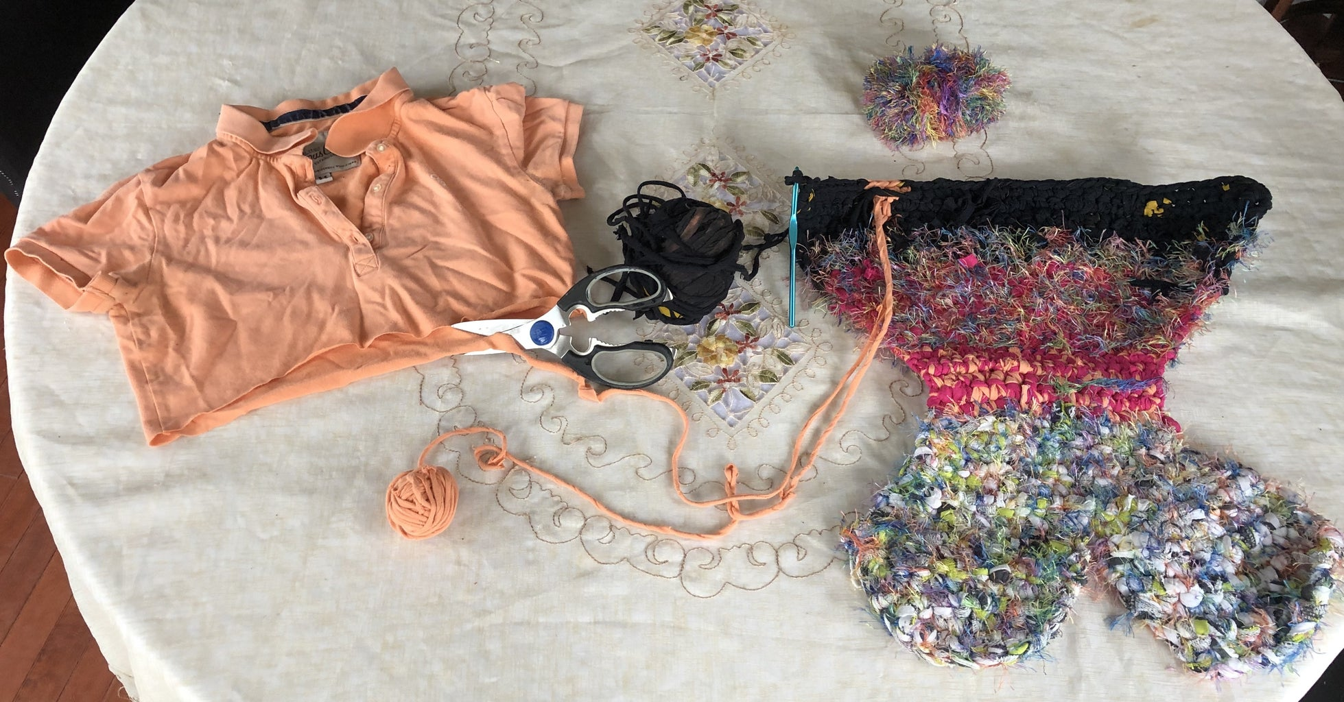 Crochet to Save Landfills