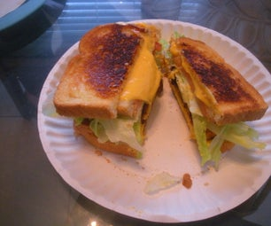 the Countryside, Doublewide, BLT Grilled Cheese