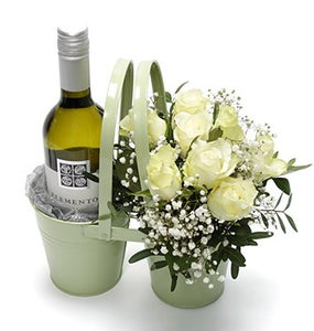 Do: Bring a Bottle of Wine And/or Flowers When Visiting a Home