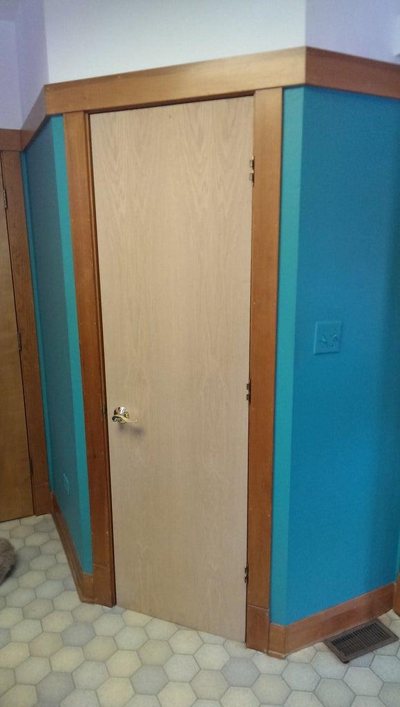 Hidden Compartment in Everyday Door