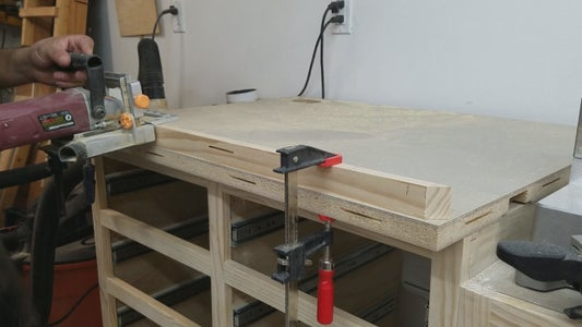 Adding Wood Trim to Counter Tops