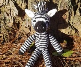 Checkers the Zebra