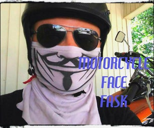 Motorcycle Riding Facemask