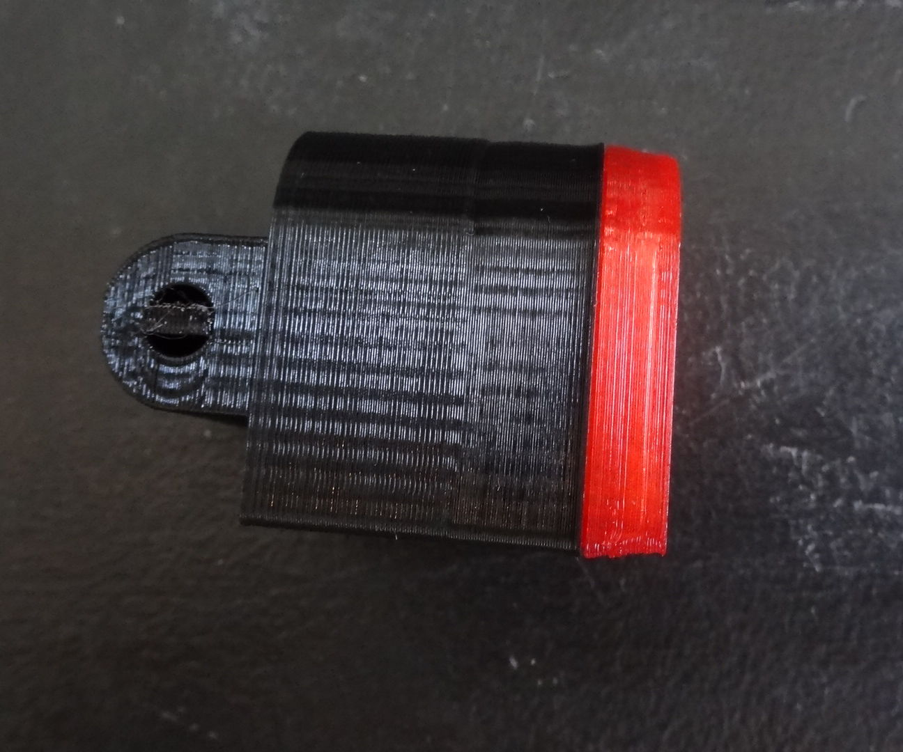 3D printed Bike light (rear) without battery