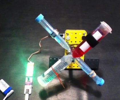 LittleBits Sample Rotator