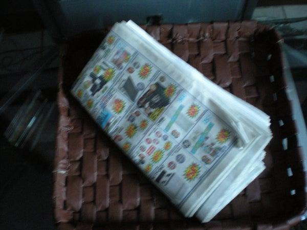 Newspaper Tray