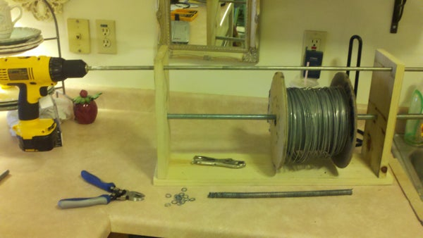 Building a Mandrel for Coiling Wire.  (Chainmail)