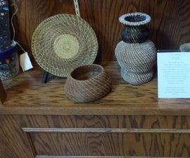 Pine Needle Baskets for Fun &...Isn't Fun Enough?