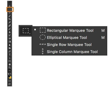 Using the Rectangular Marquee Tool, Select a Row of Your Image