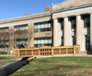 从2D图像创建3D胶合板模型