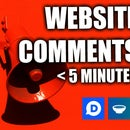 Add Comments to Any Website in Less Than 5 Minutes