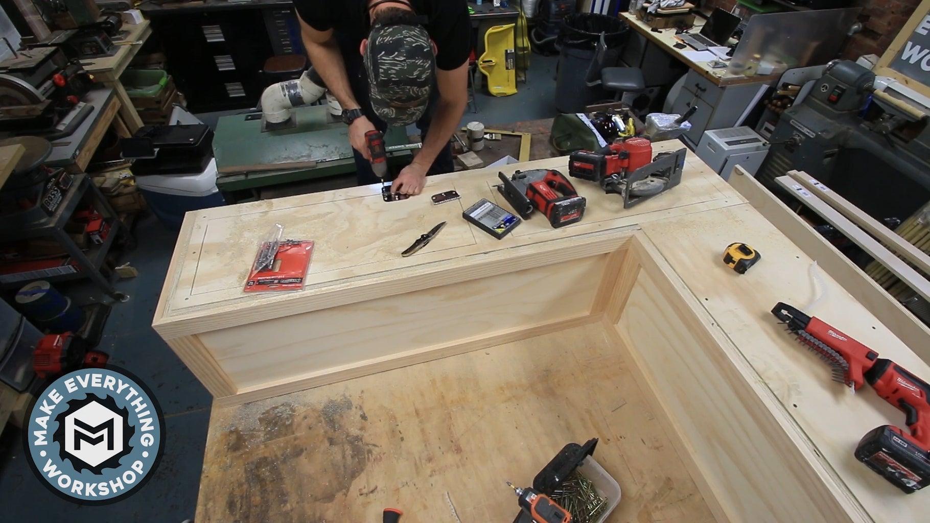 Cutting the Storage Doors