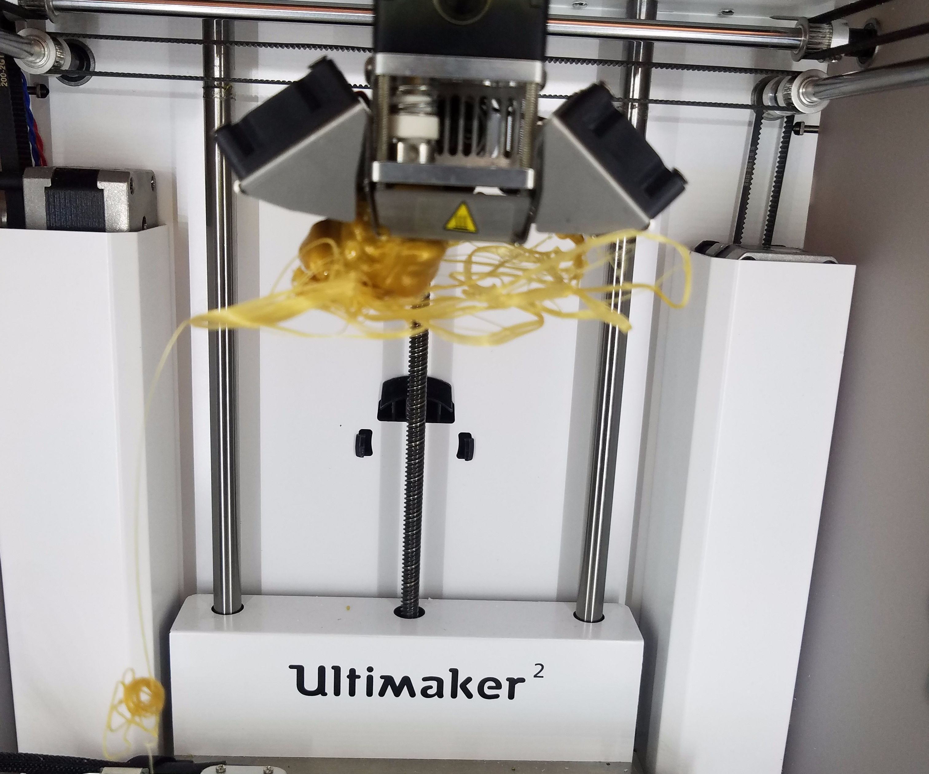 Cleaning a Ultimaker 2
