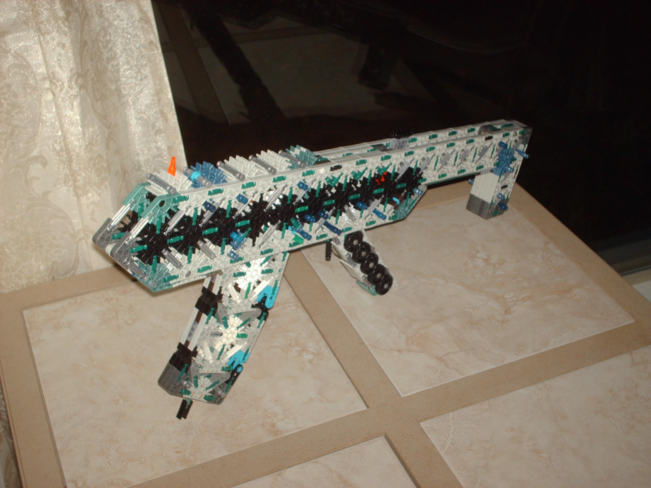 KSCAR (Killer~SafeCracker's Assault Rifle)