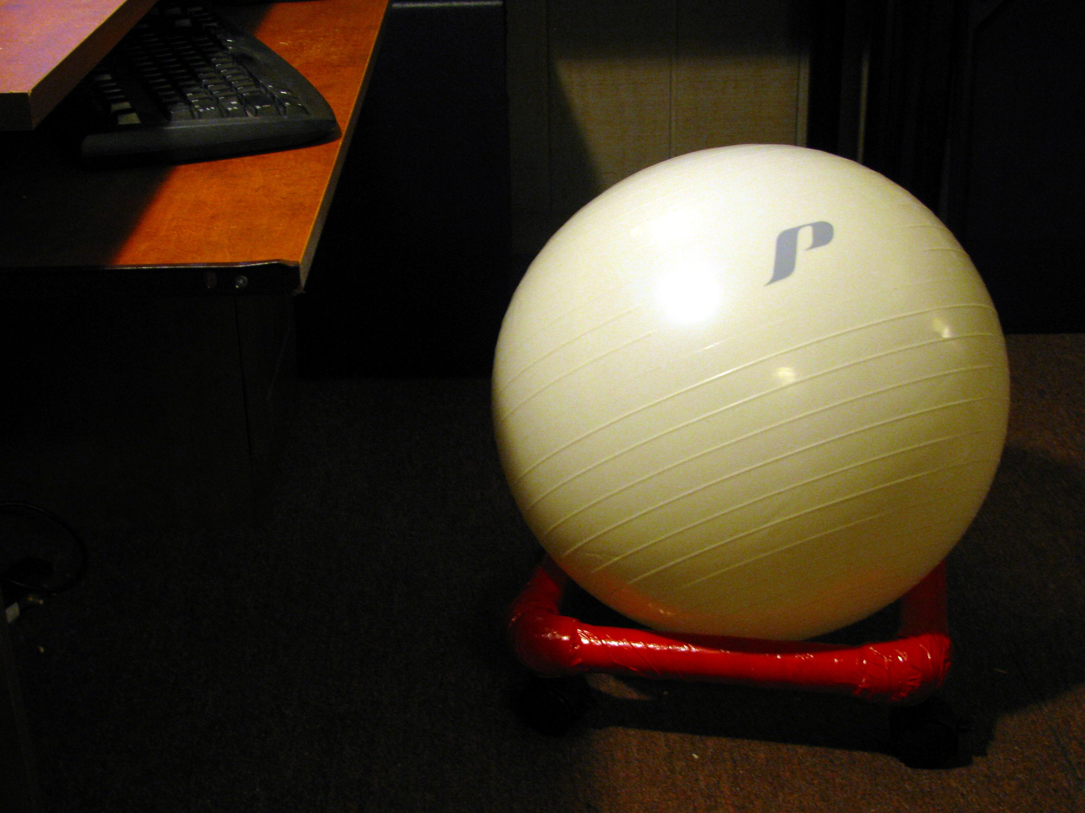 Balance Ball Desk Chair