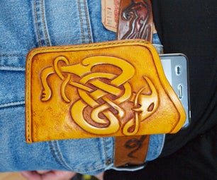 Leather Cellphone Holster