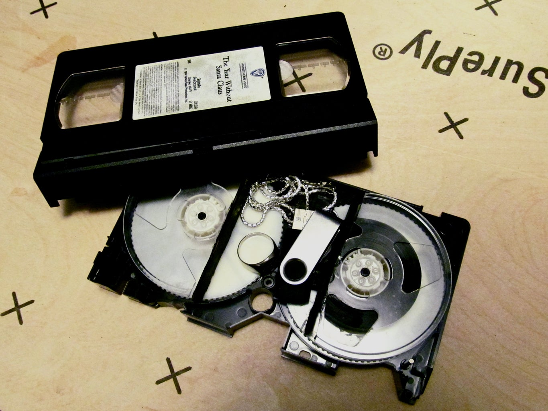 VHS Tape Secret Compartment