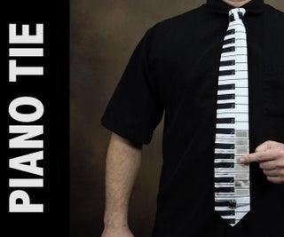 Working Piano Necktie