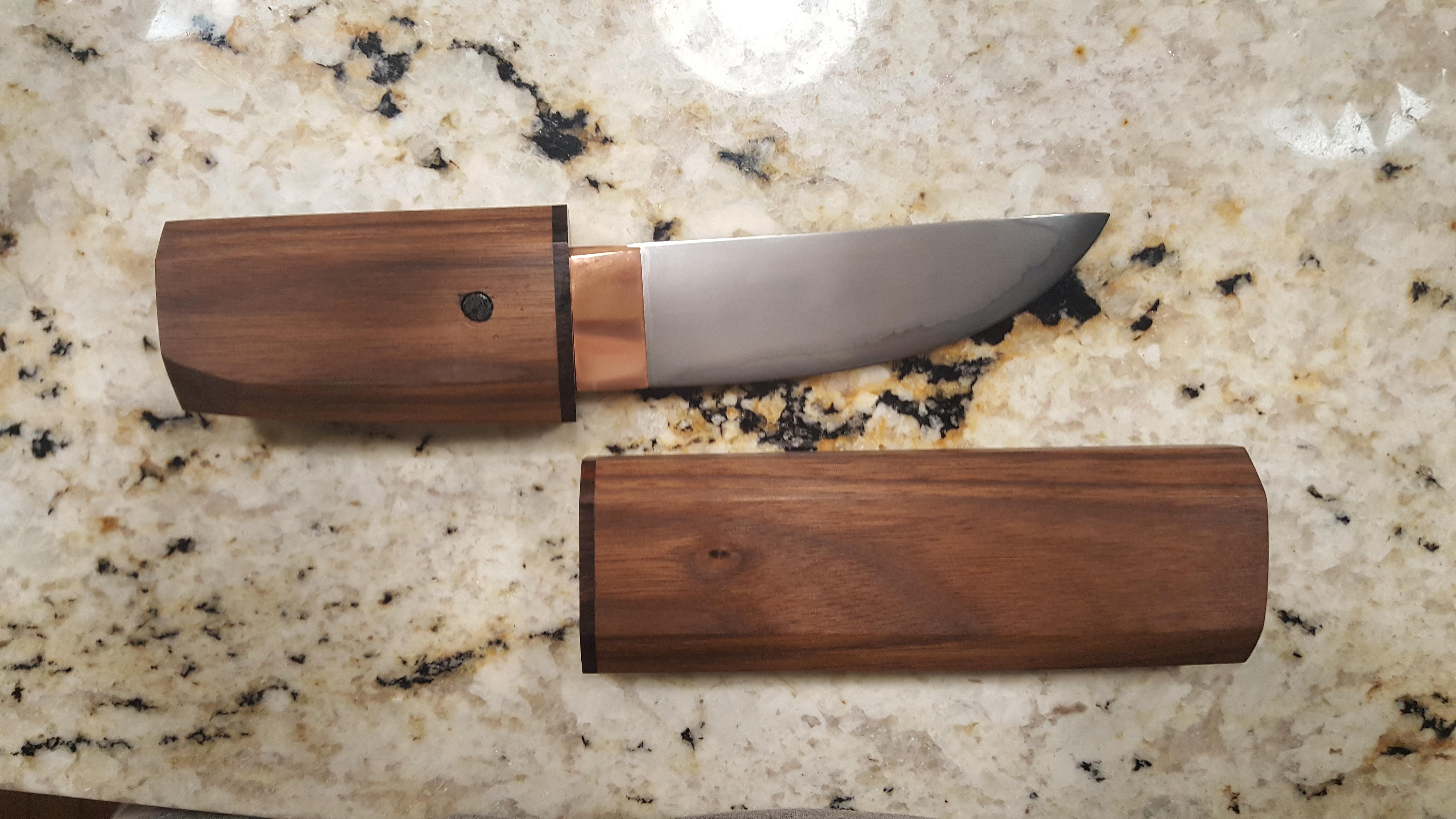 Shirasaya (Japanese Sword Scabbard)