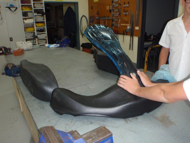 Fitting Racing Bodywork