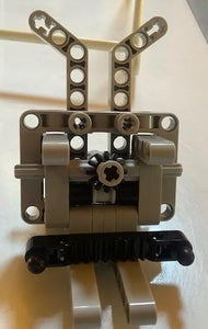 Building the Lego Car: Front Section