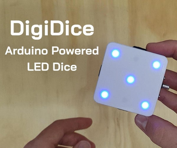 How to Build Your Own DigiDice   Electronic LED Dice