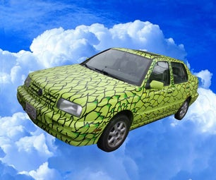 Birds of a Feather Drive Together - Paint Your Car Into a Parrot
