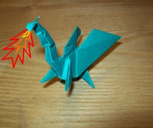 How to Fold an Origami Dragon