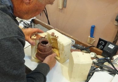 Remove the Cast Reproduction and Fire It to Create the Finished Piece.