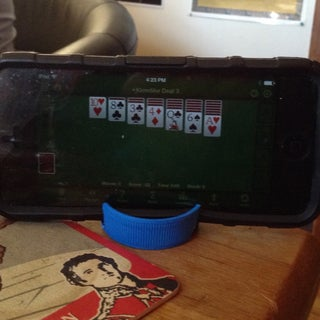 Simplest Smartphone Stand EVER !