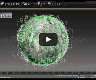CinematicExplosion - Creating Rigid Bodies