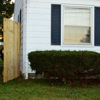 Secret Door That Looks Like an 8' Fence