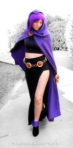 DIY Raven Teen Titans Belt & Accesories Tutorial