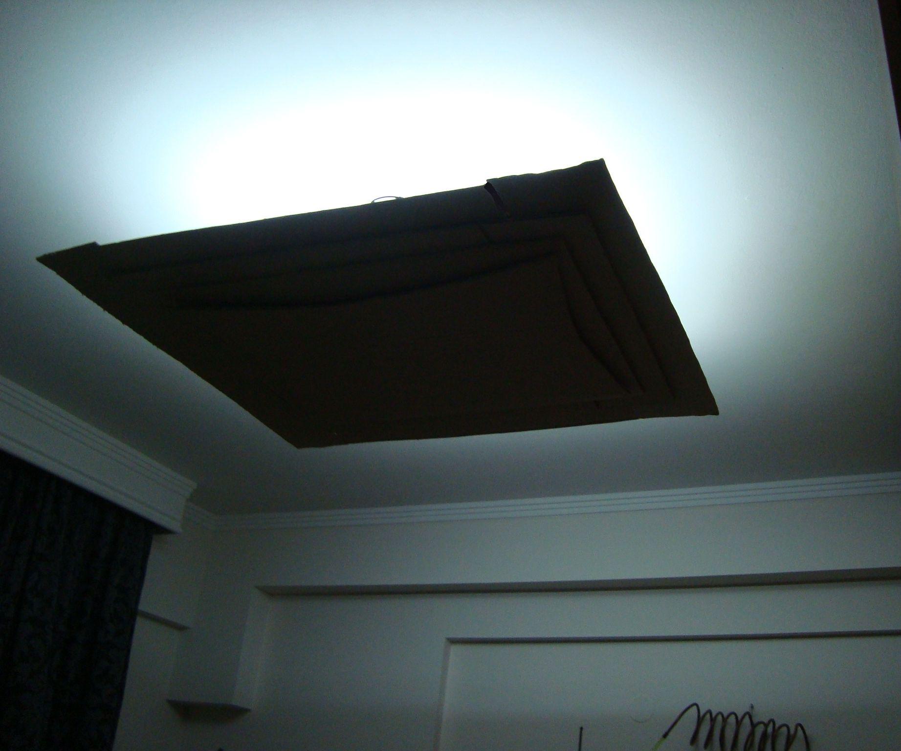 Modern LED cardboard ceiling light