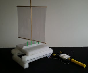 Recycle Bin Boat on a String