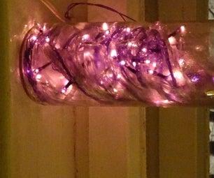 Post Holiday Lamp