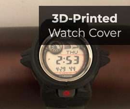 3D Printed Watch Shell