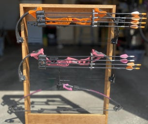 Archery Bow Rack