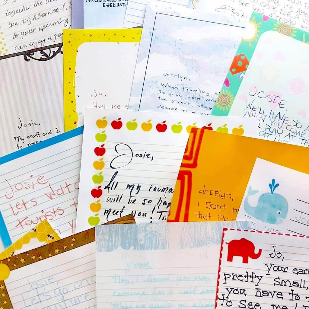 Disney Trip Reveal: Letters From Disney Characters