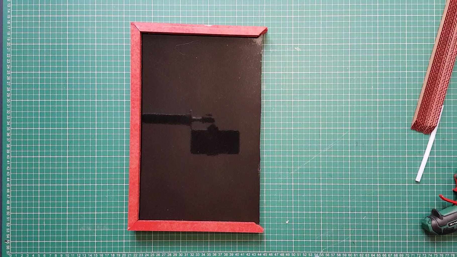 Glue the Frame Onto the Board