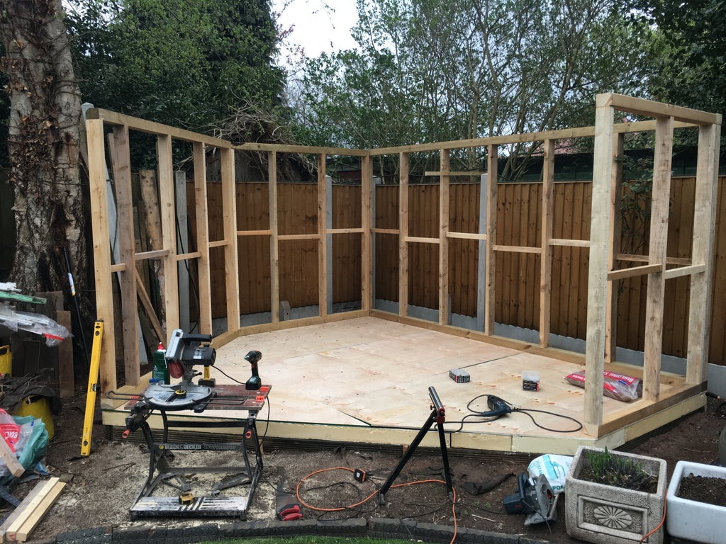 Build A Garden Room 8 Steps With Pictures Instructables