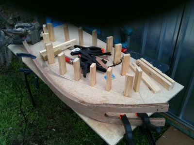 Release the Clamps and Sanding