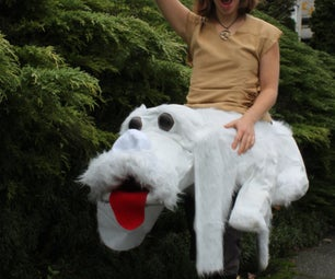Atreyu Riding Falcor From the Neverending Story!